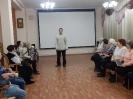 Выступает Денис, представитель городского общества инвалидов
