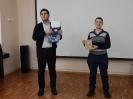 Эмиль Дадашов - обладатель приза зрительских симпатий и Александр Кудинов - участник состязания на приз зрительских симпатий
