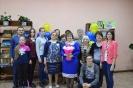 Коллектив Центральной детской библиотеки со своими читателями