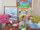 Выставка рисунков и поделок участников конкурса «Хочу делать добро»