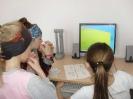 Участницы фестиваля компьютерных игр Самира Пояркова, Ксения Харченко и Яна Куразеева