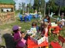 Летний читальный зал под открытым небом (детская площадка Храма Максима Исповедника)