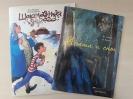 Детские книги, выигранные в конкурсе «Библиотекам в дар! имени О. Жданова»: «Шоколадная дорога» и «Агата и сны»