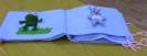 Тактильная книга «Теремок», созданная ребятами из творческой мастерской «Чудо-ручки, чудо-штучки» для детей с проблемами зрения из детского сада № 32