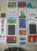 Выставка художественных работ «Детство – это я и ты!» учащихся Детской художественной школы посёлка Рудничный, оформленная в сельской Библиотеке № 9 к Международному дню защиты детей