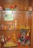 Выставка «Любимые игрушки моего детства», оформленная к Международному дню защиты детей в Библиотеке № 9 (пос. Рудничный)