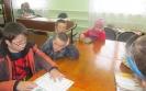 Участники фестиваля пушкинской поэзии  в Библиотеке № 6 пос. Чернореченск читают любимые сказки А. С. Пушкина
