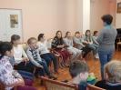 Дети из городского лагеря Центра детского творчества - участники интерактивной интеллектуальной игры «Символы нашей страны»