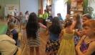 Посетители занятий кружка «Головастики» в библиотеке № 8 Заречного района