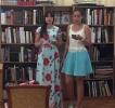 Стихи и песни в исполнении Ольги Палагиной и Алены Кудымовой создали романтичную атмосферу в зале