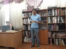 Участник квартирника Михаил прочитал стихи о любви