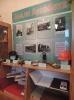 Краеведческая выставка по истории поселка Рудничный «Земля Ауэрбаха», оформленная к Дню поселка в Библиотеке № 9