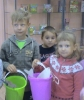Дошколята приняли участие в веселой рыбной игре