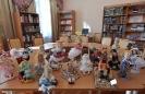 Выставка кукол ручной работы в Центральной городской библиотеке. Автор: Оксана Фраш (Базалей)