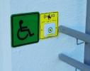 Звуковая кнопка вызова персонала для людей с ограниченными возможностями здоровья