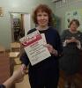 Победительница Чемпионата по скорочтению «Лига глотателей текста» в категории от 18 лет и старше Акулина Елена (Библиотека № 8)