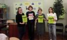 Участники Чемпионата «Лига глотателей текста» в Библиотеке № 8 Заречного района