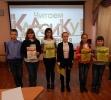 Участники Чемпионата по скорочтению «Лига глотателей текста» в Центральной городской библиотеке