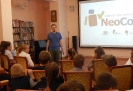 Педагог Центра детского творчества Артем Вибе выступил экспертом в беседе со школьниками «Машина времени уже создана?!»