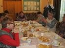 Жители поселка Рудничный на традиционном чаепитии, посвященном Дню пожилого человека в Библиотеке № 9