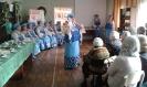 Выступление народного хора «Зоренька» на юбилее клуба «На огонек»