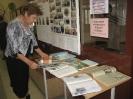 Юбилейный стенд с фотографиями и книжная выставка к 260-летию Турьинского медного рудника в Библиотеке № 10 р-на Медная Шахта