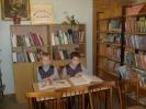 Первоклассники школы № 5 поселка Воронцовка на своем первом библиотечном уроке узнали правила поведения в библиотеке и пользования книгами