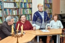 Елена Пакос прочитала стихи собственного сочинения, посвященные поэту, композитору и певцу Игорю Талькову