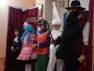 Фрагмент спектакля «Буратино» семейного театра «Небесные лучики»
