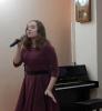 Лазаренко София исполнила песню на французском языке «Je Veux»