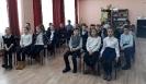 Учащиеся 5-го класса школы № 24 на мероприятии, посвященном П. И. Чайковскому в Центральной детской библиотеке