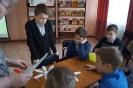 Участники правовой игры «Имею право знать» в Центральной детской библиотеке