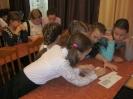 Школьники поселка Рудничный на познавательной игре, посвященной Международному дню толерантности