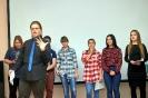 Участники Молодежного поэтического Баттла - 2018. Фото: газета «Вечерний Краснотурьинск»