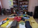 Выставка с рукавичками, варежками, перчатками для разных возрастов и профессий