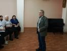 Анатолий Мазин читал стихи разной тематики