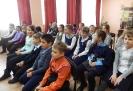 Участники литературно-игровой программы, посвященной 105-летию со дня рождения Виктора Драгунского