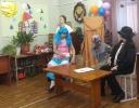 Небольшое театрализованное представление от артистов Комплексного центра социального обслуживания населения для участников мероприятия - людей с ограниченными возможностями