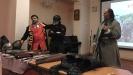 Члены Клуба экспериментальной истории «Орден почёта» рассказали о создании ролевых образов. Фото: РИА «Жизнь Краснотурьинска»