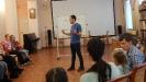 Разговор о транспорте будущего в Лаборатории гениальных идей Артема Вибе, педагога Центра детского творчества