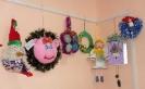 Выставка работ участников городского конкурса декоративно-прикладного творчества «Супер-игрушка-2018» в Центральной городской библиотеке