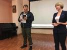 Награждение участника творческого проекта «Пиши! Читай!» Антона Панова