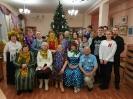 Участники и гости новогоднего квартирника в Центральной городской библиотеке