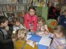 Участники литературного часа, посвященного Дню детского кино в Библиотеке № 10 Медной Шахты