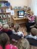Библиотекарь Надежда Каледина рассказала дошколятам о героях детских книг, которые попали на экран
