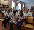 Студенты медицинского колледжа с большим интересом познакомились с книгами о любви современных авторов