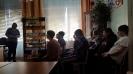 Встреча со студентами политехникума, посвященная Дню памяти воинов-интернационалистов в Библиотеке № 8листов