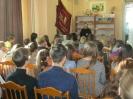Встреча школьников с участником боевых действий в Афганистане Виктором Борисовым в Библиотеке № 9