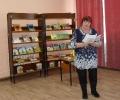Людмила Галуза читала стихи Ирины Гавриловой на вечере памяти поэтессы в Центральной детской библиотеке