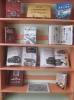 Книжная выставка, офрмленная к Дню защитника Отечества в Библиотеке № 6 поселка Чернореченск